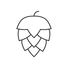 Hop Outline Icon
