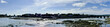 Panoramafoto Brücken Shannon Panorama Brigdes Limerick