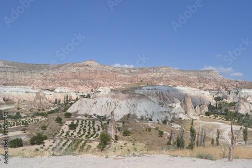 Fotobehang Zalm Cappadocia