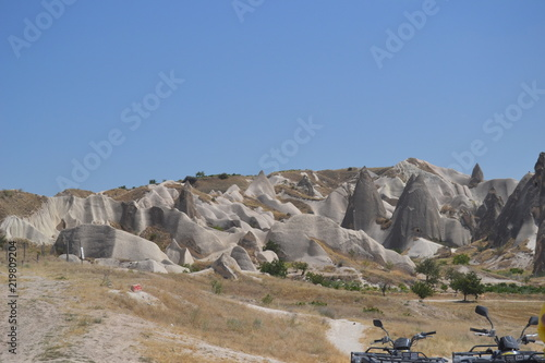 Poster Donkergrijs Cappadocia