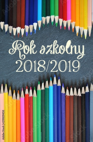 Fotografie, Obraz  Rok szkolny 2018/2019