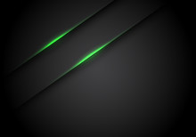 Abstract Green Light Line Shad...
