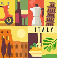 Italy Landmark Seamless