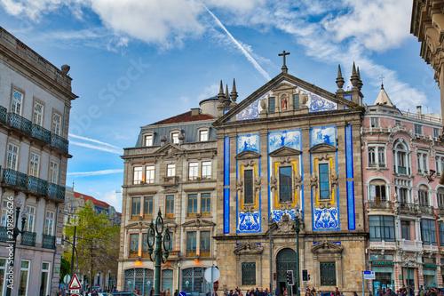 Portugal, Porto-10 October, 2017: Sao Bento train station in historic city center