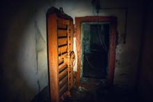 Large Steel Hermetic Door Of A...