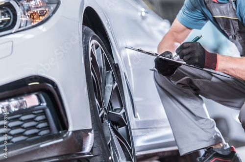 Fotografie, Obraz  Used Car Maintenance