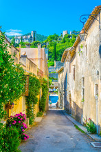 Narrow Street In Oppede Le Vie...