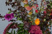 Bunter Herbststrauß