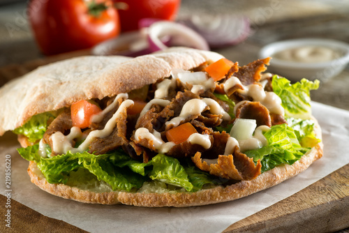Doner Pita Sandwich