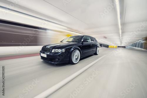 Fotografie, Obraz  schnelles Auto