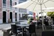 Restaurant Lokal Außenplätze in der Stadt