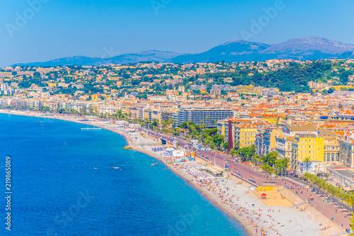 Deurstickers Nice Seaside of Nice, France