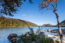 Morning At Jordan Pond, Acadia National Park, Maine, USA