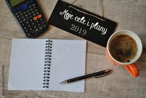 Foto  Moje cele i plany na 2019