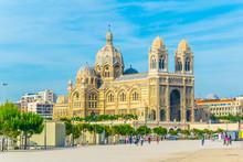 Cathedral La Major At Marseill...