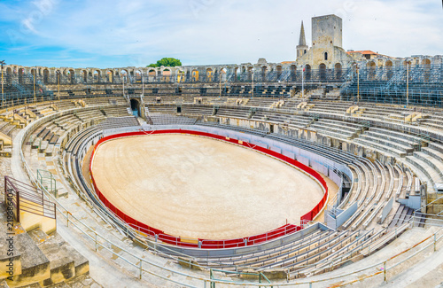 Arles Amphitheatre, France Wallpaper Mural