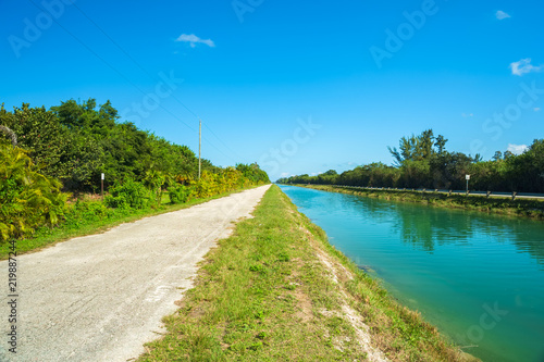 Fotografie, Obraz  Rural Canal