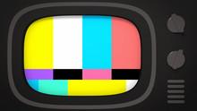 No Signal TV.  3d Rendering Pi...
