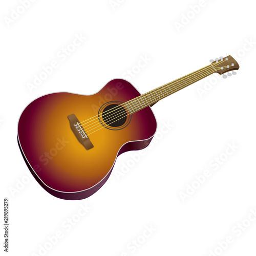アコースティックギター Adobe Stock でこのストックイラストを購入し