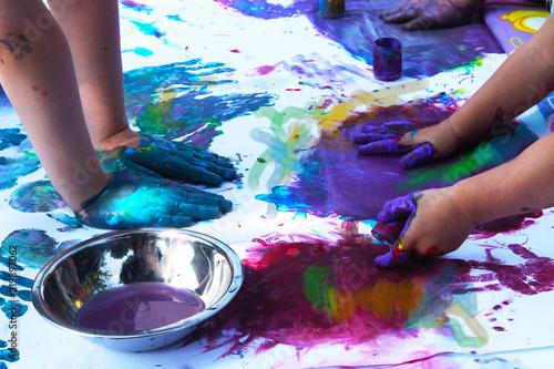 Fotografia  zajęcia z malowania