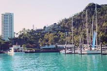Tropical Island Great Barrier Reef Whitsundays Australia