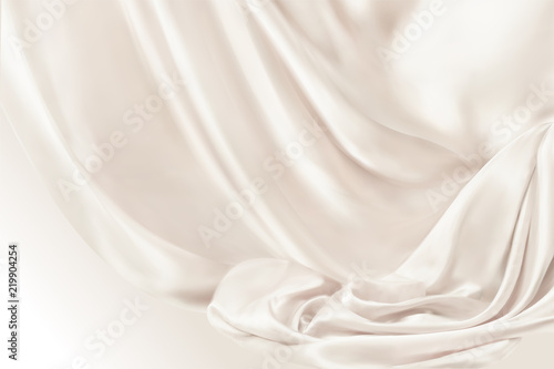 Smooth drapery background Wallpaper Mural