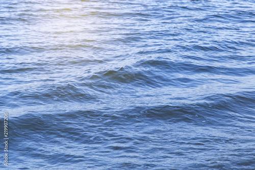 Staande foto Zee / Oceaan Water wave in sea