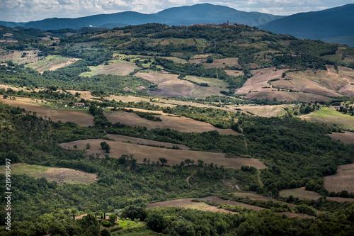 Foto op Plexiglas Zuid Afrika Radicondoli, Grosseto, Tuscany - panoramic view
