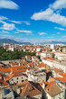 View on the old town of Split, Croatia.