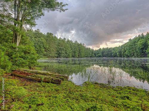 Valokuvatapetti Silver Lake in Sullivan County
