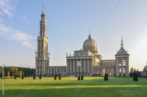 Sanctuary of Our Lady of Licheń - Poland -  largest church in the world Canvas