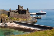 Peel Castle On A Summers Day W...