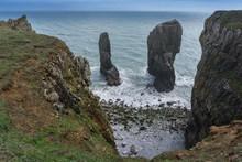 Elegug Stack Rocks On The Pemb...