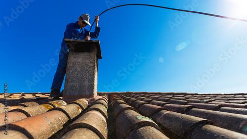 Photo ramonage cheminée