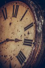 Vintage Analogue Wall Clock