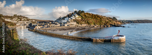 Harbour Approach, Looe, Cornwall Wallpaper Mural