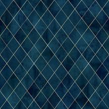 Argyle Geometric Watercolor Se...