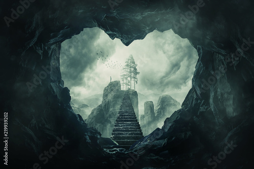 Photographie the cave of your heart