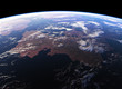Beautiful Earth. View From Space. NASA Images Not Used.