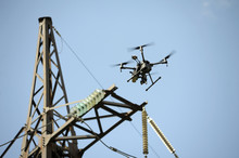 Quadcopter Flying In A Sky, El...