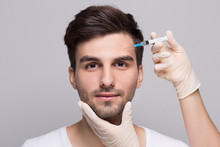 Filler Injection For Male Face...