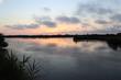 Coucher de soleil sur le domaine de Certes, Bassin d'arcachon