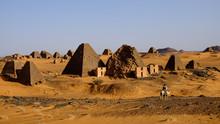 Pyramids Of Meroe (Meroë), Sudan