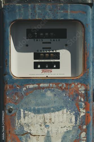 Obraz na plátne gasoline route 66