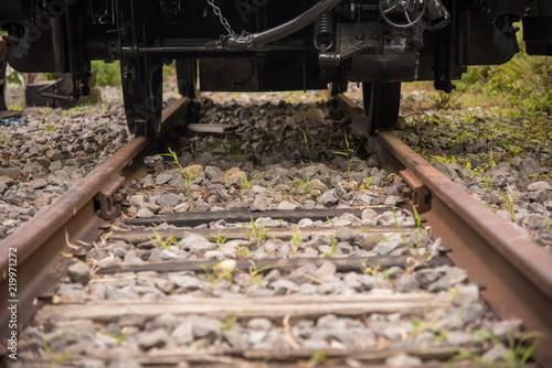 Foto op Canvas Spoorlijn 線路