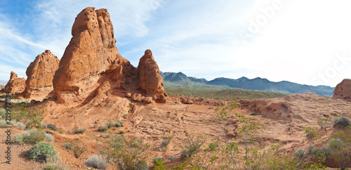USA, Nevada State, the Valley of Fire State Park