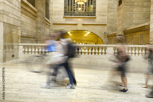 Photo  Rush hour in Grand Central Station, New York City