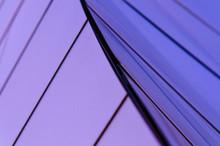 Blue Sheet Of Steel-bend