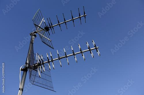 antena television Fotobehang