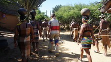 A Traditional African Tribes Zulu People, South Africa